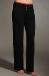 Basic Cotton Blend Jersey Knit Pant