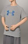 Boys Big Logo Short Sleeve Tech T-Shirt