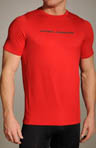 UA Heatgear Touch Fitted Shortsleeve Crew
