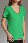 Charged V-Neck Plunge Tee