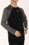Boys UA Black Widow L/S Shirt