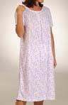 Cotton Print Short Gown