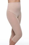 Smooth Couture Tight Open Front Mid Calf Shaper