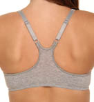Cotton Front Close Racerback Bra