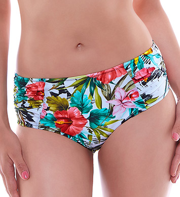 Fantasie Wakaya Deep Brief with Gathered Sides Swim Bottom