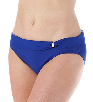 Lauren Ralph Lauren Beach Club Solids Sash Slider Hipster Swim Bottom