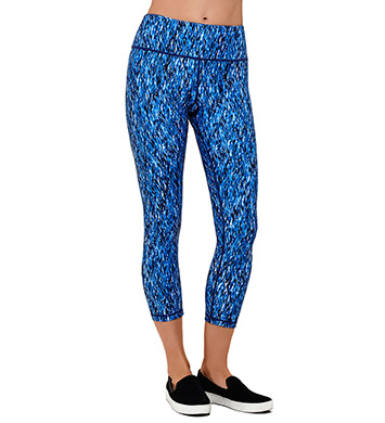MSP by Miraclesuit Print Haven Reversible MIRASLIM Crop Pant