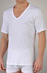 Sea Island V-Neck Short Sleeve T-Shirt