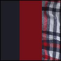 Tartan/Blue/Cranberry