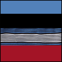 Black/Blue/Red/Stripe