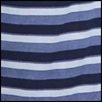 Bold Stripe Indigo