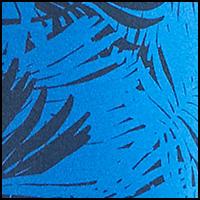Palm Leaf Blue