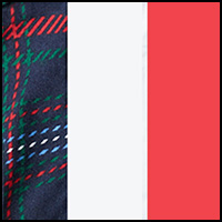 Plaid/Scotts Red/White
