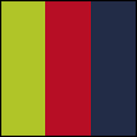 Salsa Red/Lime/Navy