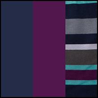 Stripe/Navy/Charisma