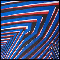 Wrapped Stripe Cobalt
