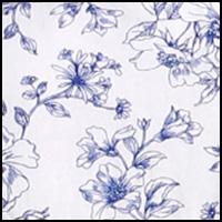 White Sketch Floral