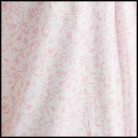 White/Rose Scroll