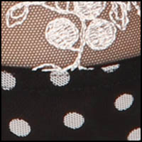 Black Ivory Dots