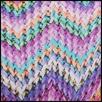 Knit Zags Pink