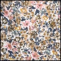 Vintage Blooms-Multi