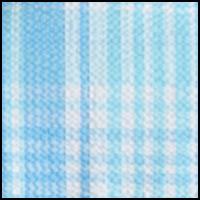 Blue / Mint Plaid