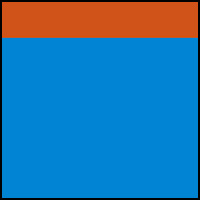 Sonar Blue/Orange