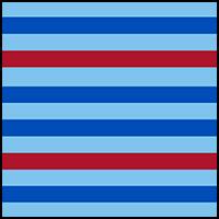 Red Nautical Stripe