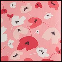 Coral Poppy Print