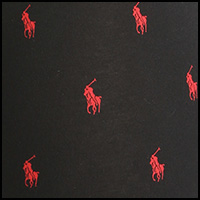 Polo Black/Red