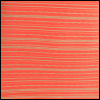 Hot Coral DashStripe