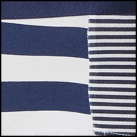 Peacoat Rugby Stripe