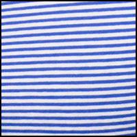 Royal/White Stripe