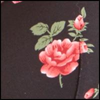 Black/Rose Print