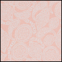 Coral Multi Paisley