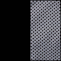 Black Rhombus/White