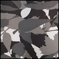 Black Print Leaves