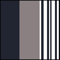 Marine/Stripe/Iron