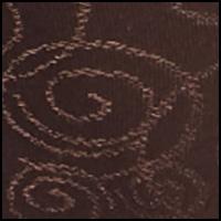 Warm Cocoa Brown Swirl
