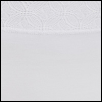 White w/ Lace