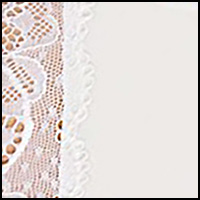 White w/White Lace