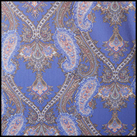 Periwinkle Paisley