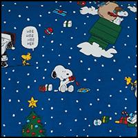 Snoopy Season Blue