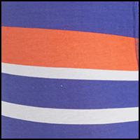 Blue/Orange Stripes