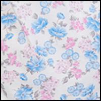 Blue & Pink Floral
