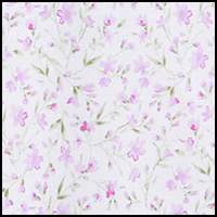 White Ditsy Floral