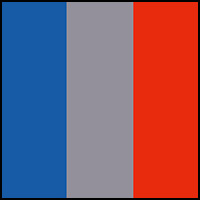 blue/grey/orange
