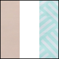 Blush/White/Chevron