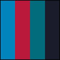 Blue/Sea/Navy/Amaranth