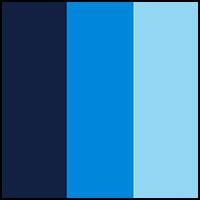 Navy/Artesian/Blue